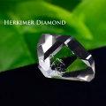 ハーキマーダイヤモンド 原石 天然水晶 結晶 透明 オンビル 天然石 アップストーン
