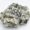 パイライト 黄鉄鉱 クラスター ペルー ワンサラ鉱山 原石 結晶 天然石 パワーストーン