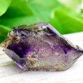 ザンビア産 アメジスト アメジストエレスチャル セプター 紫水晶 原石 結晶 水入り パワーストーン