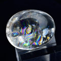 レインボー水晶 アイリスクォーツ タンブル 虹入り水晶 アップストーン オンビル 天然石
