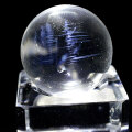 エンジェルラダー 水晶 丸玉 スフィア ハイダウェイクォーツ 天然石 パワーストーン