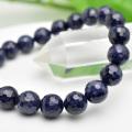 サファイア ブレスレット 数珠 155面カット 多面カット 天然石 パワーストーン