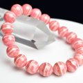 インカローズ ロードクロサイト ブレスレット ペルー産 縞模様 恋愛運 パワーストーン 天然石