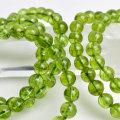 ペリドット ブレスレット 数珠 かんらん石 8月誕生石 天然石 パワーストーン