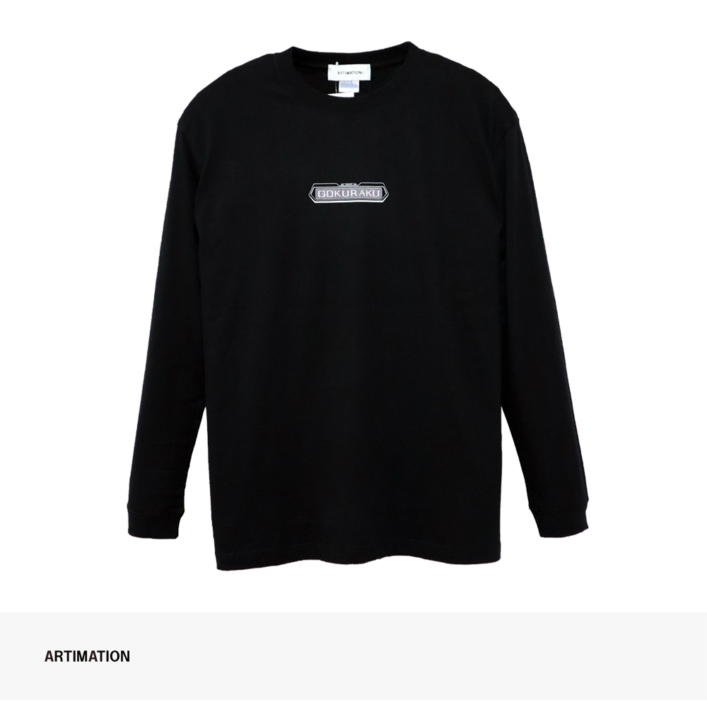 ARTIMATION × 電影少女 FIRST SCENE LONG SLEEVE TEE | BLACK / アーティメーション Tシャツ