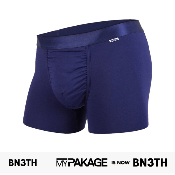 MYPAKAGE BN3TH WEEKDAY TRUNKS SOLID | NAVY / マイパッケージ ベニス パンツ