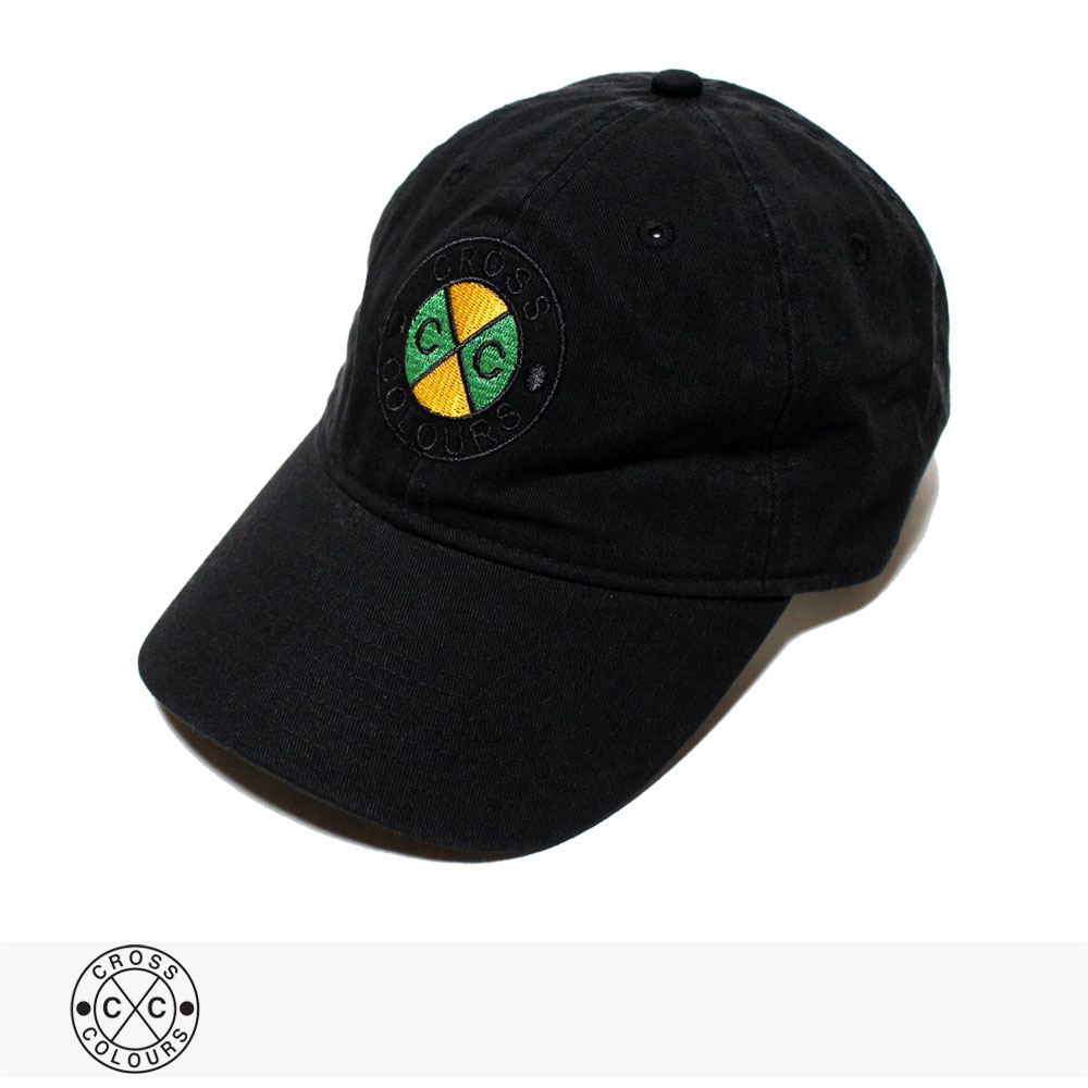 CROSS COLOURS CLASSIC EMBROIDERED DAD HAT / クロスカラーズ キャップ