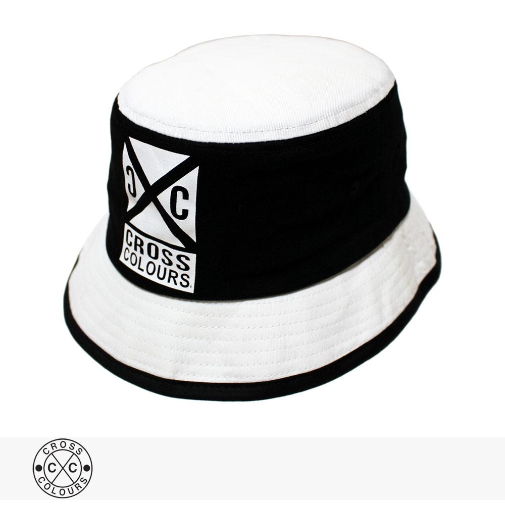 CROSS COLOURS COLOR BLOCK BUCKET HAT / クロスカラーズ ハット