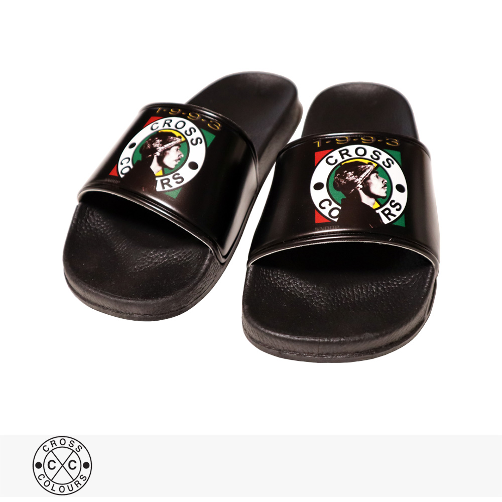 2020 F/W CROSS COLOURS SNOOP DOGG PROFILE SLIDES / クロスカラーズ サンダル