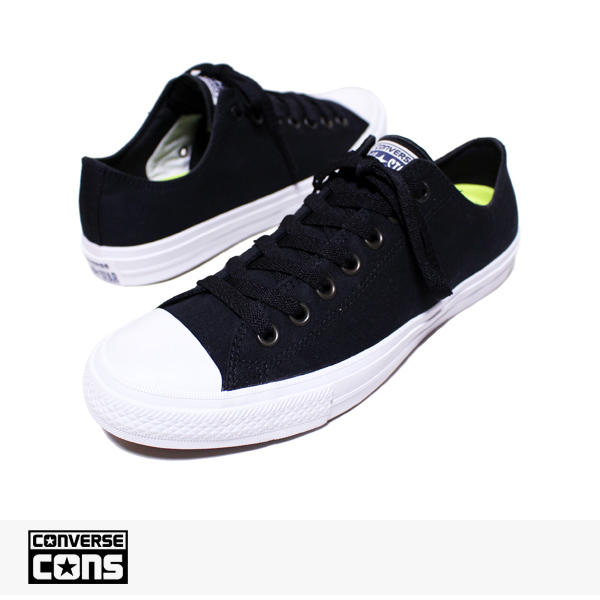 CONS CT 2 OX BLACK | WHITE | NAVY / CONVERSE SB コンバース