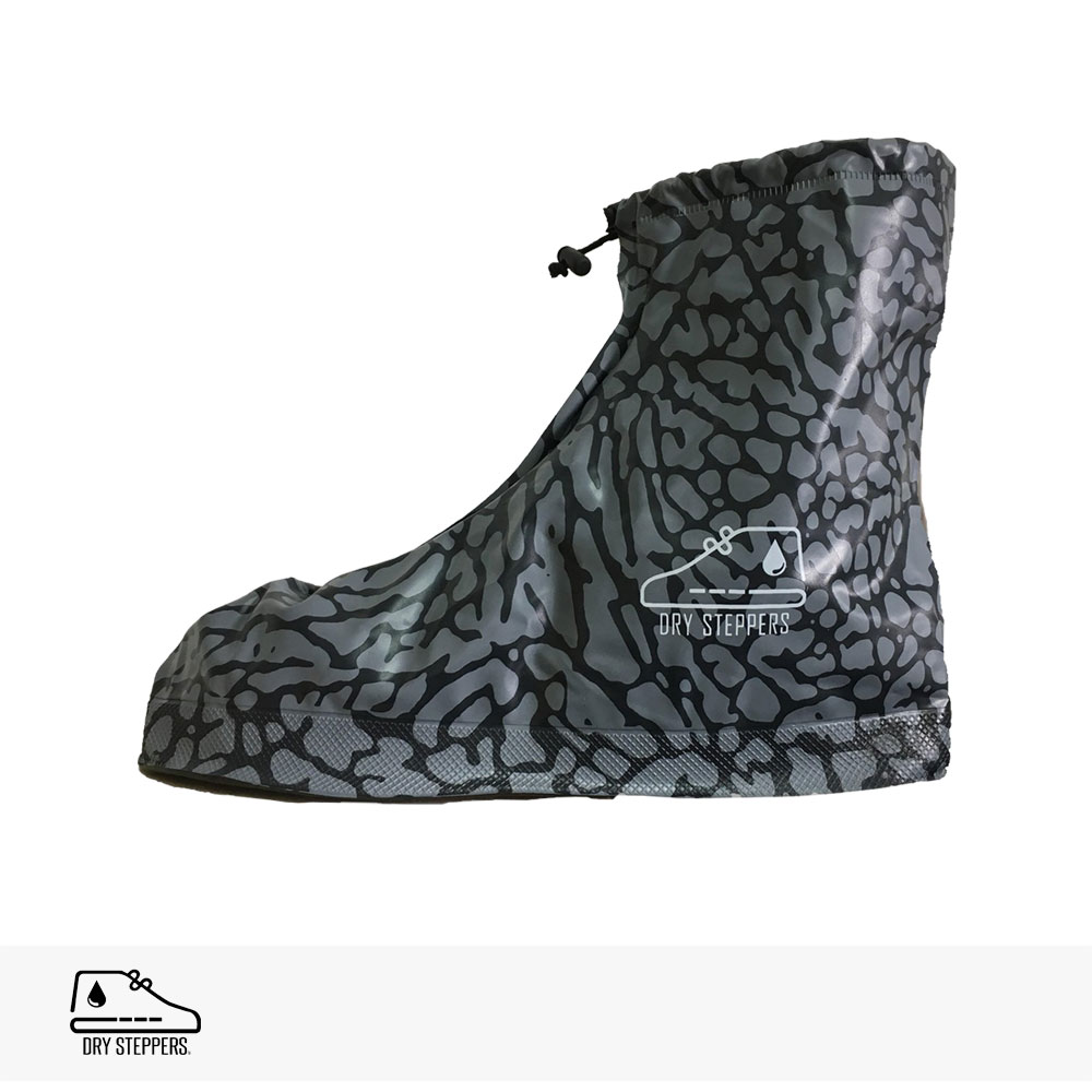 DRY STEPPERS SNEAKER RAIN COVER | CEMENT / ドライステッパー レインカバー