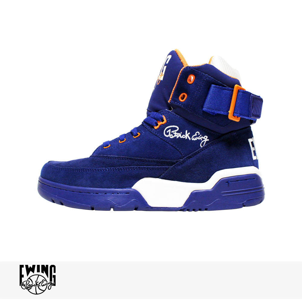 EWING ATHLETICS 33 HI | BLUE SUEDE | WHITE | ORANGE / ユーイング アスレチックス