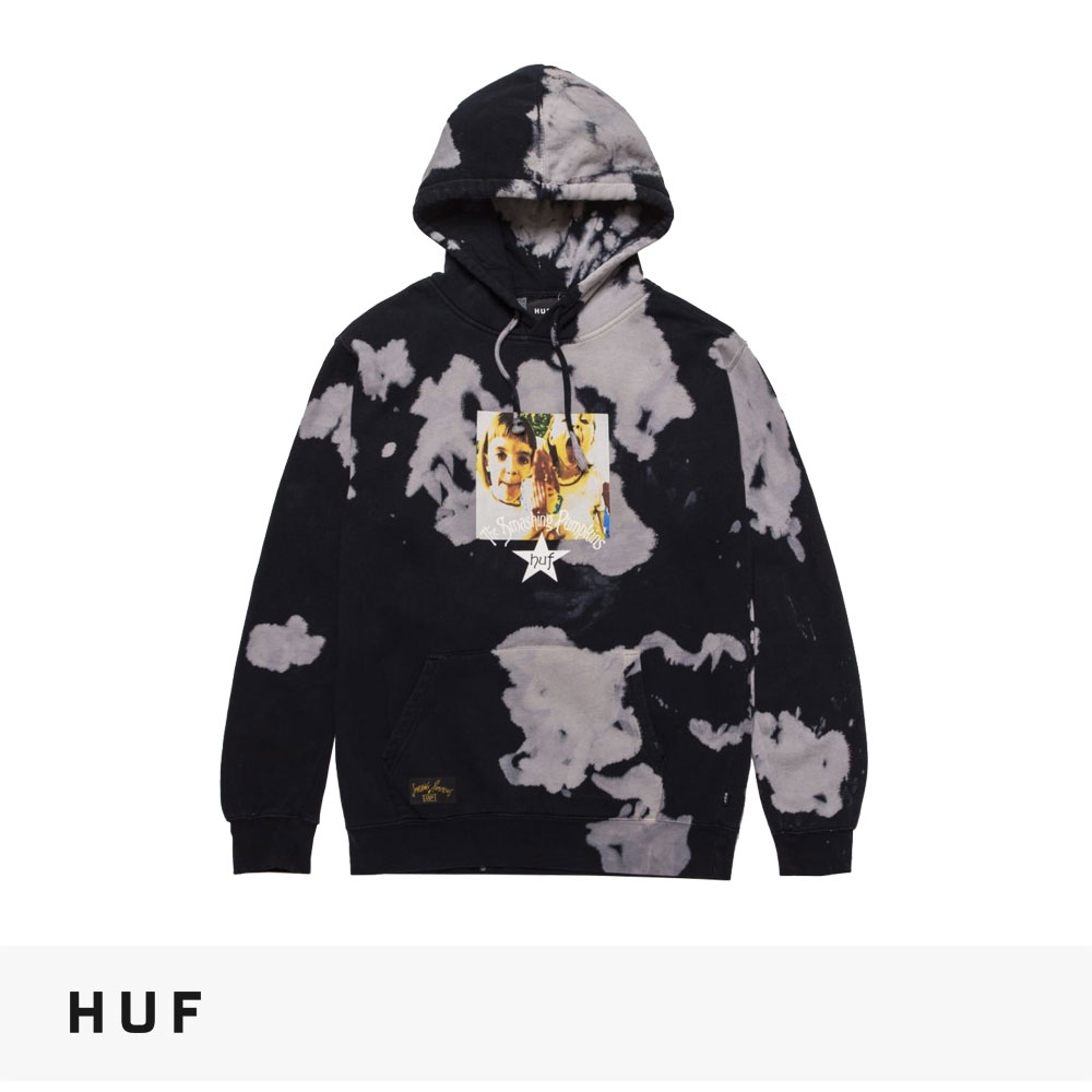 HUF × THE SMASHING PUMPKINS CHERUB ROCK PULLOVER HOODIE / ハフ パーカー