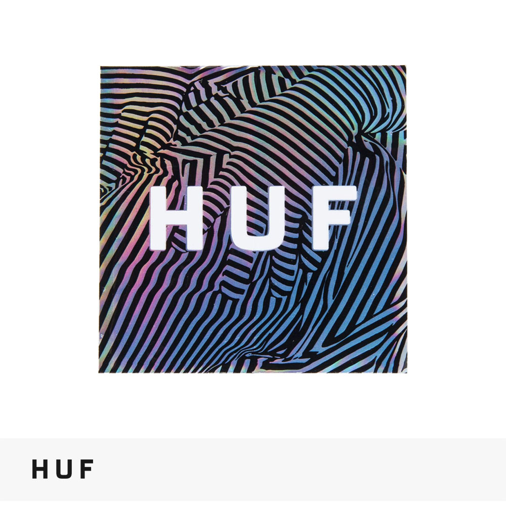 2021 SPRING HUF FEELS STICKER / ハフ ステッカー