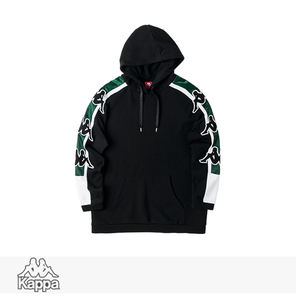 2018 F/W KAPPA BANDA COLLECTION KNIT HOODED PULLOVER | BLACK / カッパ パーカー