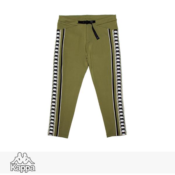 KAPPA BANDA COLLECTION KNIT LONG PANTS | KHAKI / カッパ パンツ