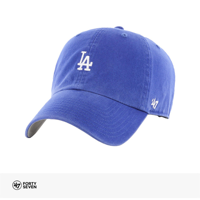 47BRAND DODGERS BASE RUNNER '47 CLEAN UP | ROYAL / フォーティーセブンブランド キャップ