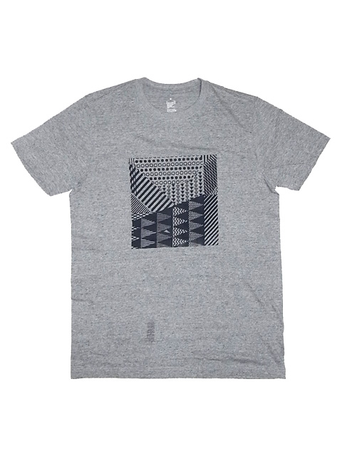 SLUDGE HAND PRINT T-SHIRTS 002TEE GRAY