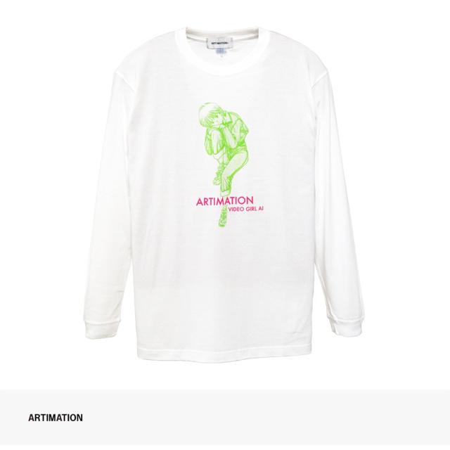 ARTIMATION × 電影少女 DENIM STYLE LONG SLEEVE TEE / アーティメーション Tシャツ