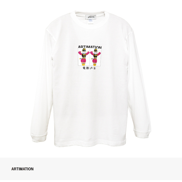 ARTIMATION × 電影少女 DOUBLE BOX LONG SLEEVE TEE / アーティメーション Tシャツ