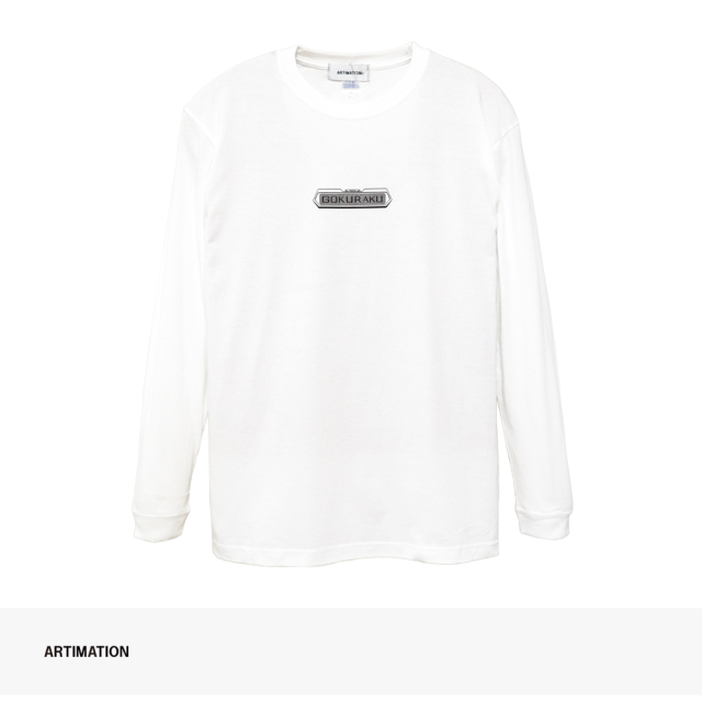 ARTIMATION × 電影少女 FIRST SCENE LONG SLEEVE TEE   WHITE / アーティメーション Tシャツ