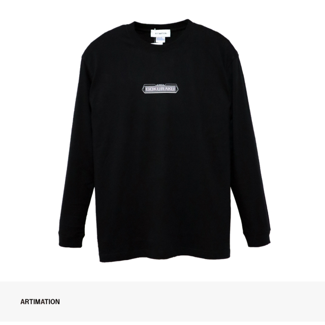 ARTIMATION × 電影少女 FIRST SCENE LONG SLEEVE TEE   BLACK / アーティメーション Tシャツ
