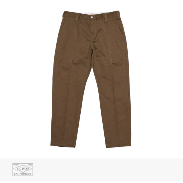BIG MIKE PIN TACK CHINO PANT | COYOTE / ビッグマイク パンツ