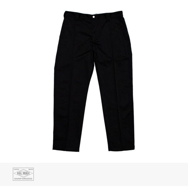 BIG MIKE PIN TACK CHINO PANT | BLACK / ビッグマイク パンツ