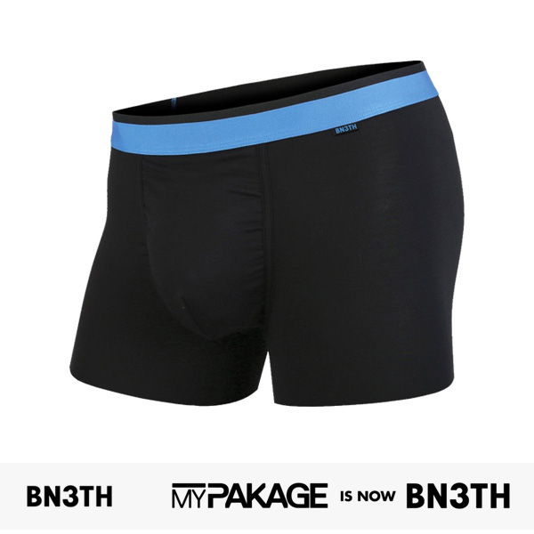 MYPAKAGE BN3TH WEEKDAY TRUNKS SOLID | BLACK | BLUE / マイパッケージ ベニス パンツ