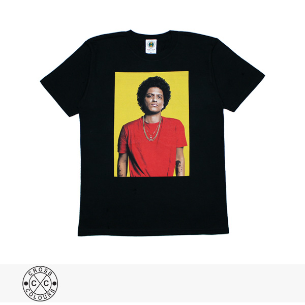 CROSS COLOURS BRUNO MARS 24K MAGIC WORLD TOUR PHOTO TEE / クロスカラーズ Tシャツ