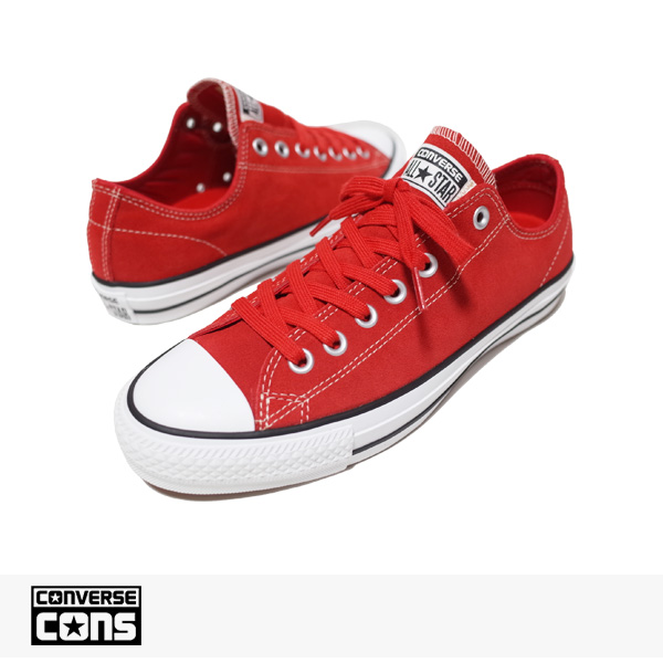 CONS CTAS PRO OX RED | WHITE / CONVERSE SB コンバース