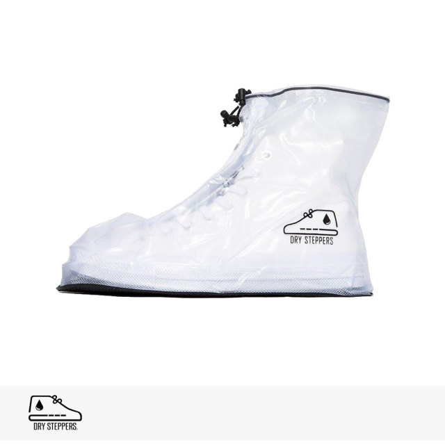 DRY STEPPERS SNEAKER RAIN COVER | CLEAR / ドライステッパー レインカバー