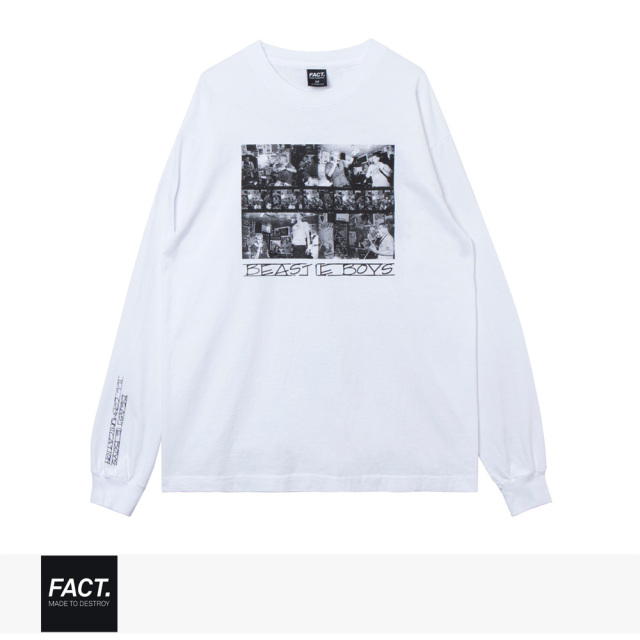 FACT. × BEASTIE BOYS ILL COMM L/S TEE / ファクト Tシャツ