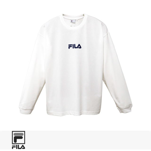 FILA HERITAGE SAILING THEME CREW NECK SHIRTS | WHITE / フィラヘリテージ Tシャツ