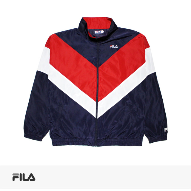 2019 S/S FILA BICOLOR STAND BLOUSON | NAVY / フィラ ブルゾン
