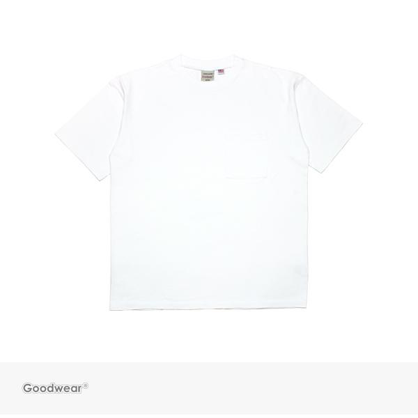 2018 S/S Goodwear BIG POCKET TEE | WHITE / グッドウェア Tシャツ
