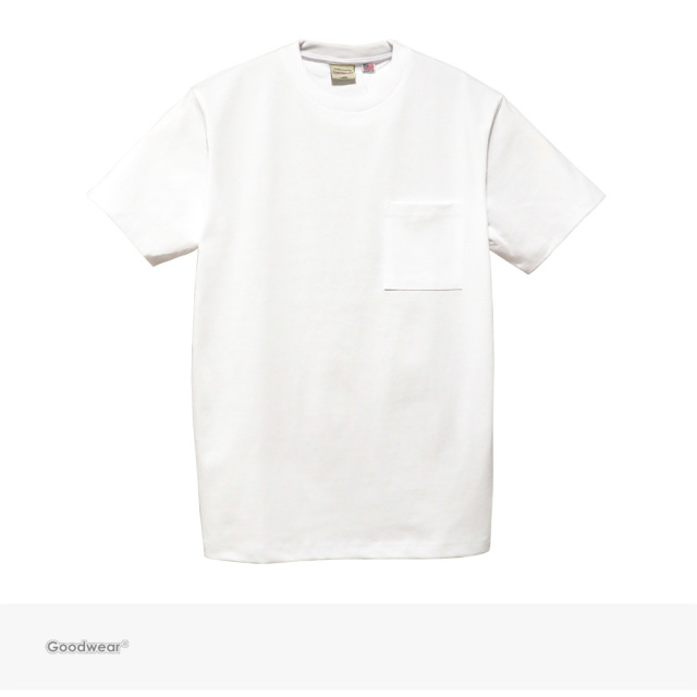 Goodwear USA COTTON POCKET TEE | WHITE / グッドウェア Tシャツ