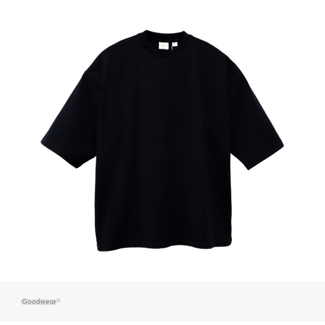 Goodwear USA COTTON SUPER BIG TEE | BLACK / グッドウェア Tシャツ