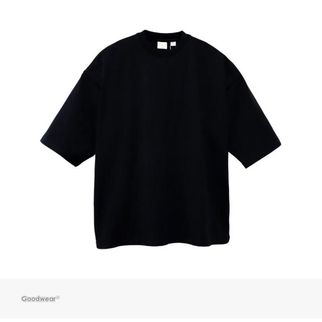 Goodwear USA COTTON SUPER BIG TEE | BLACK / グッドウェア Tシャツ