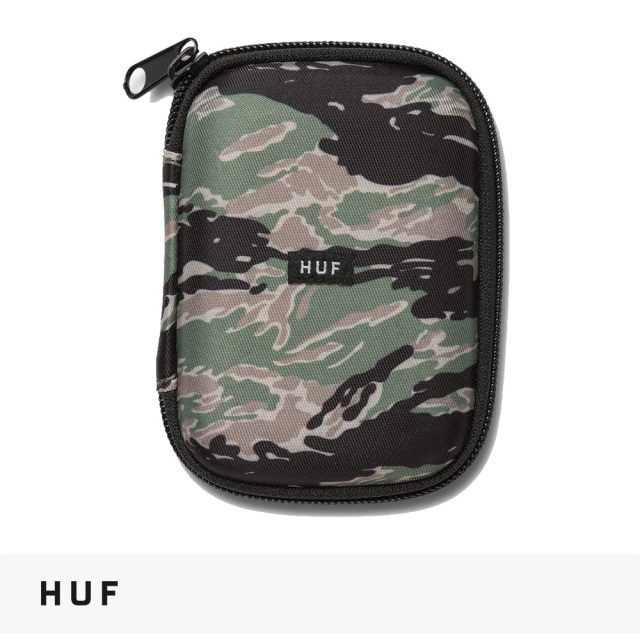 HUF STASH CASE | TIGER CAMO / ハフ ケース