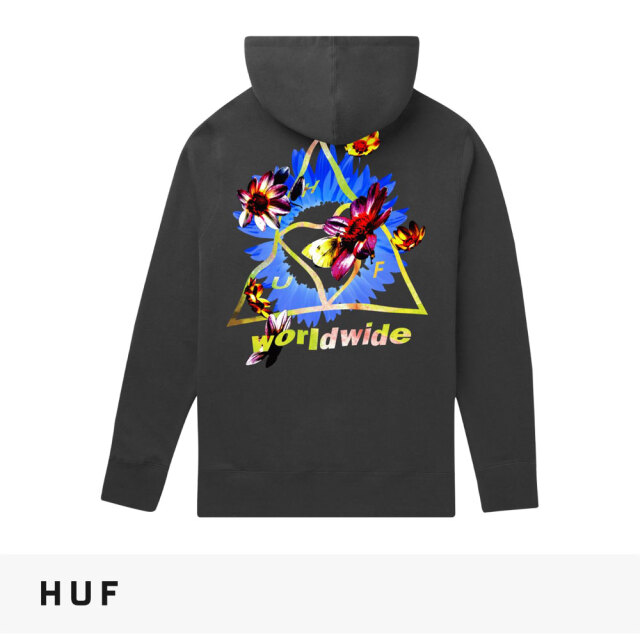 HUF COME DOWN TRIPLE TRIANGLE PULLOVER HOODIE / ハフ パーカー