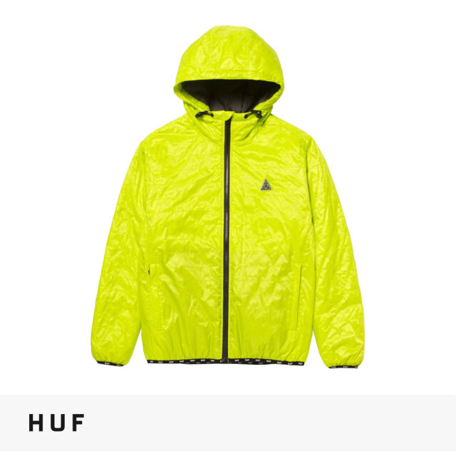 HUF POLYGON QUILTED JACKET / ハフ ジャケット