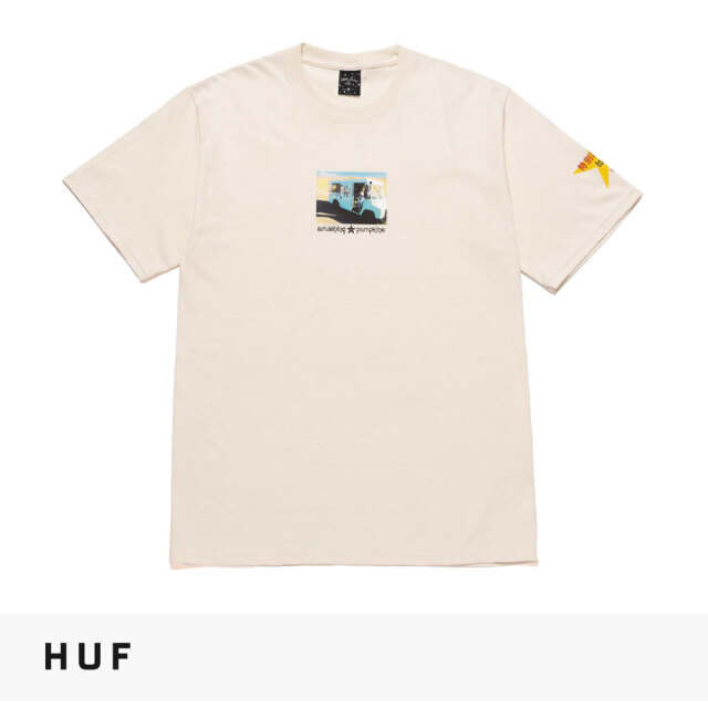 HUF × THE SMASHING PUMPKINS TODAY T-SHIRT / ハフ Tシャツ