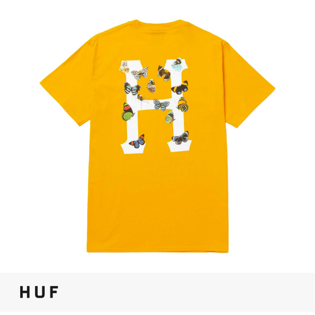 2021 FALL HUF PREY CLASSIC H S/S TEE | GOLD / ハフ Tシャツ