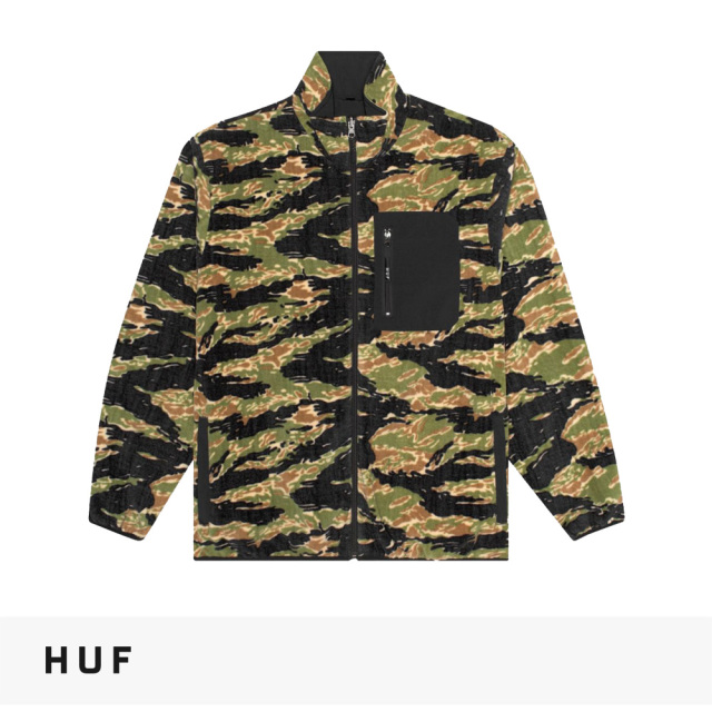 2019 HOLIDAY HUF MILTON REV POLAR FLEECE JACKET / ハフ ジャケット