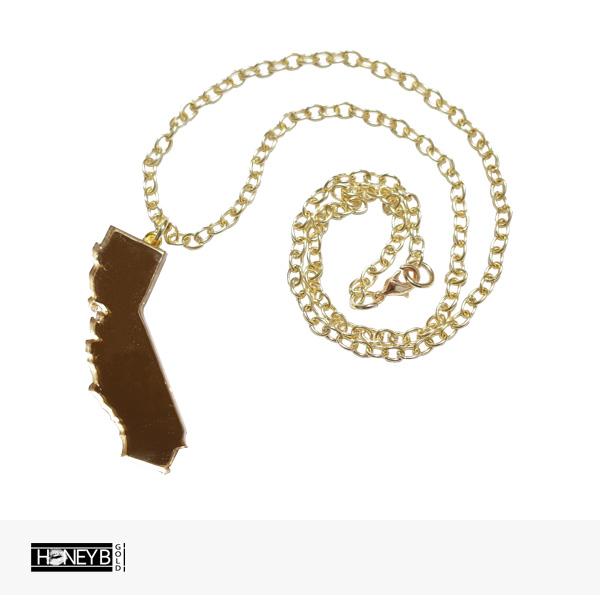 HONEY B GOLD TURFLOVE PENDANT NECKLACE / ハニービーゴールド ネックレス