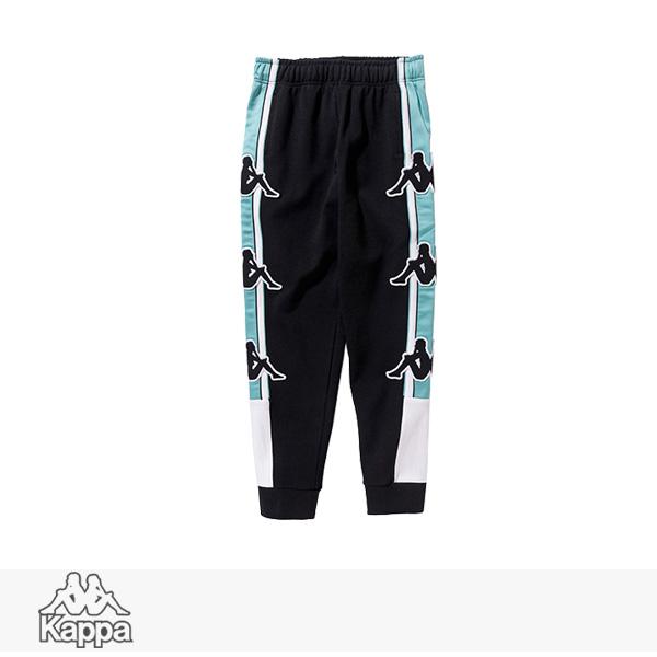 2018 S/S KAPPA BANDA COLLECTION SWEAT PANTS | BLACK / カッパ パンツ