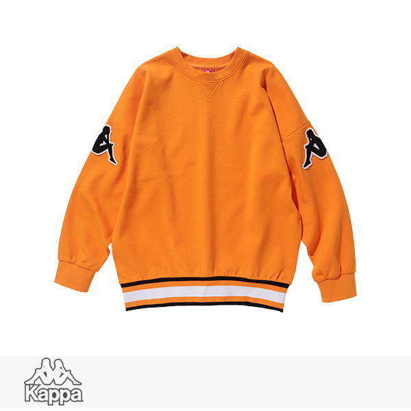 2018 S/S KAPPA BANDA COLLECTION PULLOVER SWEAT | ORANGE / カッパ スウェット