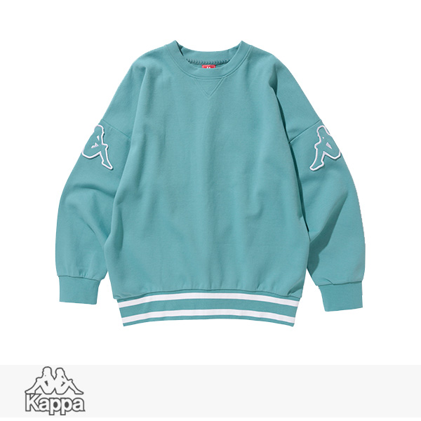 2018 S/S KAPPA BANDA COLLECTION PULLOVER SWEAT | TURQUOISE / カッパ スウェット