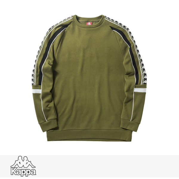 2018 F/W KAPPA BANDA COLLECTION KNIT PULLOVER | KHAKI / カッパ スウェット